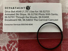Authentic Dept 56 Village Animated SNOWBOARD HILL 56.53408 REPLACEMENT BELT #548
