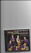 "THE JONES BOYS, CD ""GEORGE JONES COUNTRY & WESTERN SONG BOOK"" NEW SEALED"