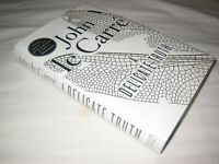 Scarce ! SIGNED A Delicate Truth John le Carre 2013 FIRST EDITION 1ST DW NF/NF