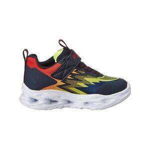Sneaker Bambino Skechers S LIGHTS- VORTX Blu 400600LN NAVY MULTI