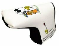 Snoopy Charlie Brown golf putter blade head cover Peanuts /AB w/Tracking