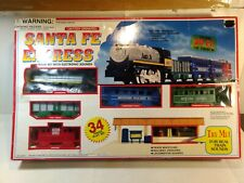 Santa Fe Express Gauge Scale Train Set With Electronic Sounds tr2176