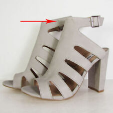 Buckle Ankle Strap Solid Heels for Women
