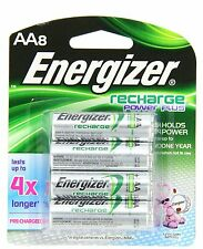 Energizer Recharge Rechargeable AA Battery 2300mAh NiMH 8 pack