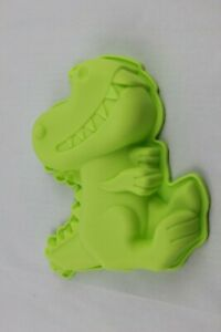 Dinosaur Dino 3D Shape Silicone Mould 17x15x3.2 cm Cake Baking Jelly Resin Clay