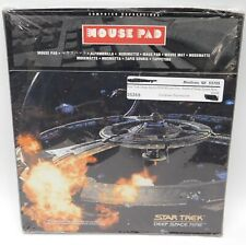 Vintage Mouse Pad: 1998 NIB - Star Trek Deep Space Nine - Battle at Deep Space 9