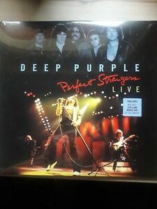 Deep Purple Perfect Strangers180gr VINILE 2 lp +2 cd nuovo sigillato