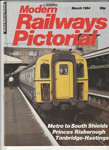 MODERN RAILWAYS PICTORIAL Magazine March 1984 - Metro To South Shields