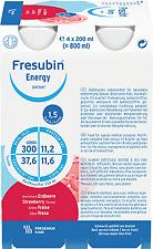 Fresubin Strawberry Energy Drink - Packung mit 24 Stücke