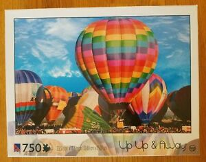 Sure Lox Up Up & Away Hot Air Balloons 750 Piece Puzzle #40006