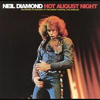 NEIL DIAMOND - HOT AUGUST NIGHT  2 VINYL LP NEW