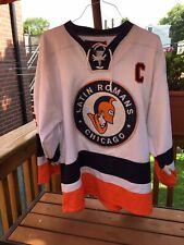 Latin Romans Prep School Men's Medium Hockey Jersey High School Chicago #4