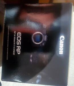 Canon EOS RP Mirrorless Camera with RF 24-105mm f/4-7.1 IS STM Lens Kit BNIB