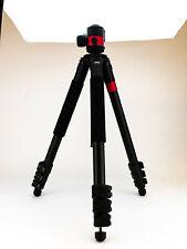 New listing Predator Tactics DeadEye Rifle Tripod System, Matte Black/Red Aluminum, 97499