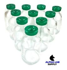 30ml Sterile Clear Glass Vials 3 Pack Free Shipping