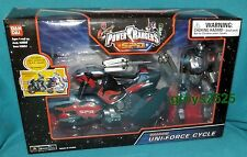 Power Rangers SPD Shadow Uni-Force Cycle w Ranger New Factory Sealed 2004