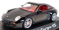 Minichamps 1/43 Scale Model Car 02002518 - Porsche Targa 4S - Black