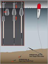 Greys Prowla Anti Tangle Tube Sinkers 15g /2 per pack x 2packs