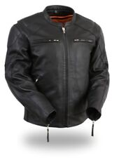 246 Men's Leather Riding Jacket