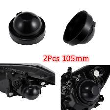2pcs 105mm Rubber Housing Seal Cap Dust Cover for LED HID Headlight Kit Retrofit
