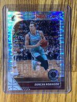 2019-20 NBA Hoops Premium Stock DUNCAN ROBINSON Prizm Pulsar Rookie RC HEAT 🔥#5