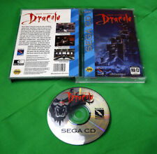 Bram Stoker's Dracula •Sega Genesis CD CDX System/Console by Sony Imagesoft CIB
