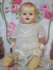 "VHTF 1938 Cloth celluloid  head RAYNAL doll 21"" Original"