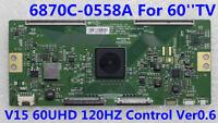 Original LG T-con Board 6871L-3987A (6870C-0558A) For 60UF7700-UJ 60UF7300-UT