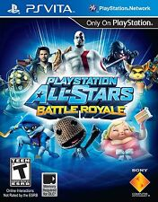 PlayStation All-Stars Battle Royale [Sony PlayStation Vita PSV, Fighting Game]