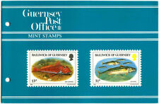 GUERNSEY PRESENTATION PACK MNH 1985 FISH OF THE BAILIWICK