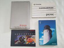 Toyota Picnic Betriebsanleitung Bedienungsanleitung Handbuch 1996-2001