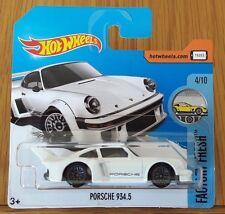 Hot Wheels Porsche 934.5 - White