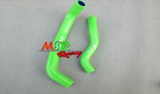 for 2003-2007 KFX 400 LTZ 400 DVX 400 silicone radiator hose green new