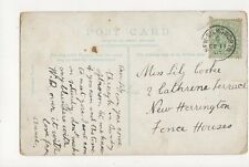 Miss Lily Cooke Catherine Terrace New Herrington Fence Houses 1907 292a