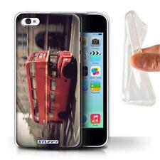 Étuis, housses et coques rouge iPhone 5c en silicone, caoutchouc, gel pour téléphone mobile et assistant personnel (PDA)