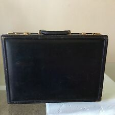 MEN'S VINTAGE BALLY LEATHER LOCK BRIEFCASE