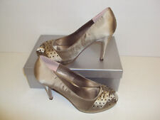 MENBUR Avance 4715 High Heel Peep Toe Stone Court Ladies Shoes Size EU 39 / UK 6