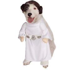 Halloween Pet Dog Costume - Disney Star Wars Princess Leia Costume - Sz L (NEW)