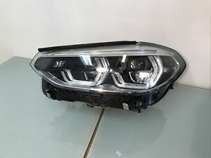 HEADLIGHT BMW X3/X4/G01/G02 PASSENGER SIDE (N/S)