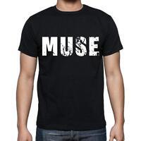 muse Tshirt, Homme Tshirt, Col Rond Homme T-shirt, Noir, Cadeau