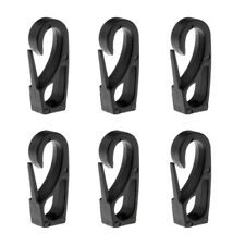 6Pcs/Set 6mm Shock Cord Bungee Rope Clip Hook for Kayak Paddle Rod Leash