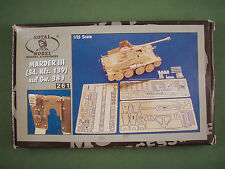ROYAL MODEL 1/35 RÉSINE KIT DE CONVERSION allemand Marder III (sd.kfz 139) auf