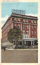 Bristol Virginia Hotel Street View Antique Postcard K82623