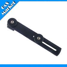 "Metal Camera Holder/Flash Bracket Mount w 2*1/4"" Adapter Screw&3*1/4"" Screw Hole"