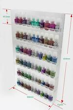 1 High Gloss Acrylic Wall Mounted 6 x 10 Nail Polish Display Rack    ANPR25C-060