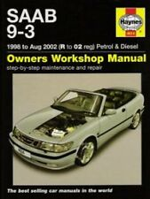 1998 1999 2000 2001 2002 SAAB 9-3 Haynes Repair Service Shop Manual 2772
