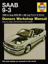 1998 1999 2000 2001 2002 SAAB 9-3  Haynes Repair Service Shop Manual 2772