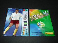 FRANK LAMPARD ENGLAND PANINI CARD FOOTBALL GERMANY 2006 WM FIFA WORLD CUP