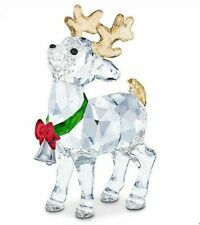 Swarovski Santa's Reindeer Mib #5532575