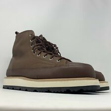 Men's Converse CHUCK TAYLOR Crafted Boot Hi, 162354C 11.5 Chocolate/Light Fawn